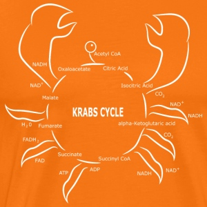 Krabs Cycle - Mannen Premium T-shirt
