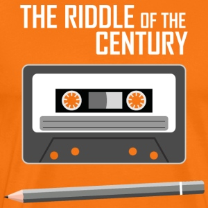 Cassette Tape - The Riddle of the Century - Men's Premium T-Shirt