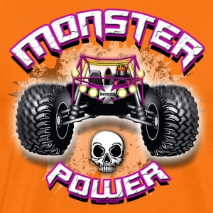 11A-03 POWER MONSTER TRUCK - Premium T-skjorte for menn