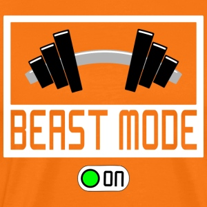 BEAST MODE ON - Männer Premium T-Shirt