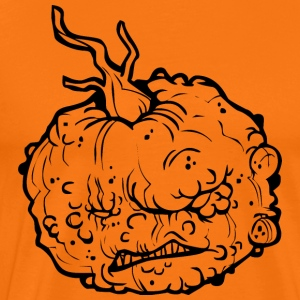 Halloween pumpkin - The wart - Men's Premium T-Shirt
