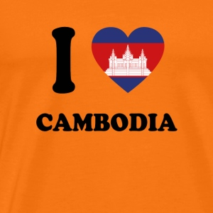 i love homeland gift CAMBODIA - Men's Premium T-Shirt