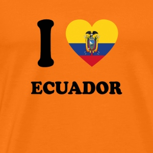 i love homeland gift ECUADOR - Men's Premium T-Shirt