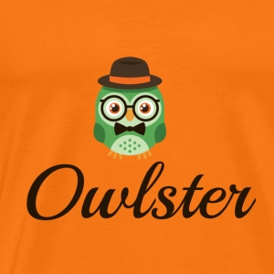 Le Hipster Owl - T-shirt Premium Homme