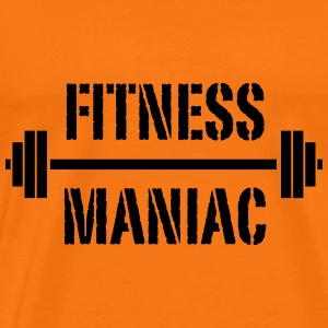 fitness maniac - Men's Premium T-Shirt
