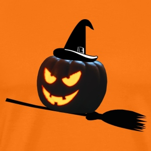 witch pumpa - Premium-T-shirt herr