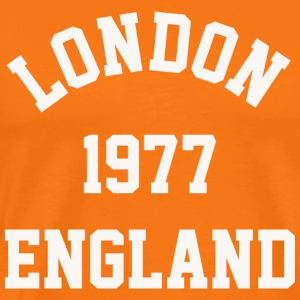 London 1977 England college - Men's Premium T-Shirt