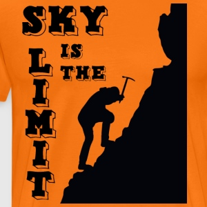 sky limit - Männer Premium T-Shirt
