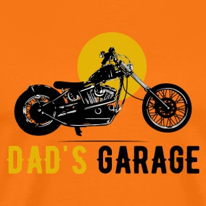 Dad's Garage · LogoArt - Men's Premium T-Shirt