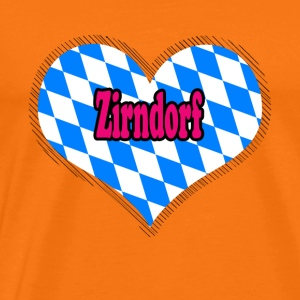 Love Bayern city Zirndorf - Men's Premium T-Shirt