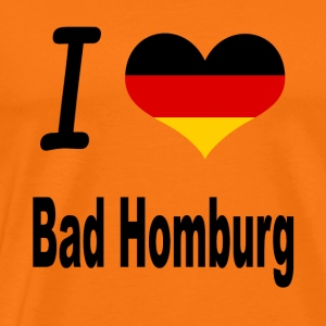 I Love Germany Home Bad Homburg - Männer Premium T-Shirt