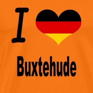 I Love Germany Home Buxtehude - Männer Premium T-Shirt