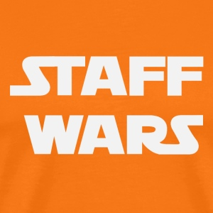 Staff Wars (2181) - Men's Premium T-Shirt