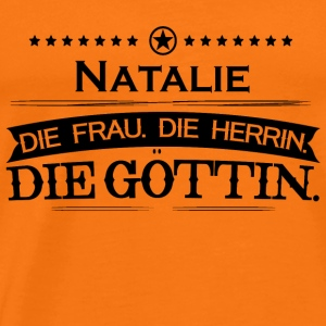 birthday goettin Natalie - Men's Premium T-Shirt