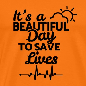 It's a beautiful day to save lives - black