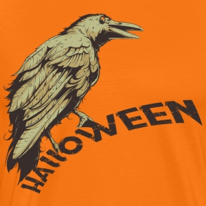 Halloween Raven Horror Raven - Men's Premium T-Shirt