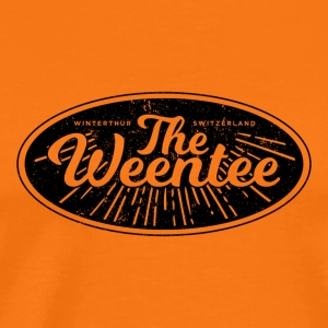 """The Weentee"" Vintage Style - Men's Premium T-Shirt"