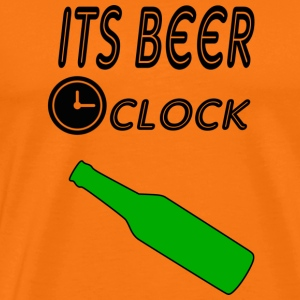its beer oclock - Men's Premium T-Shirt