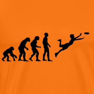 Ultimate Frisbee Evolution - Herre premium T-shirt