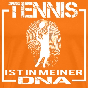 TENNIS DNA - Männer Premium T-Shirt