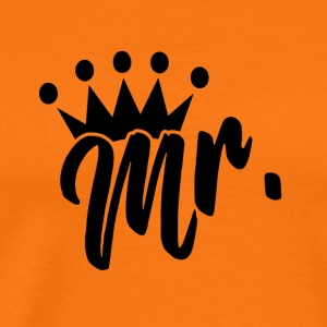 Mr. with crown - Men's Premium T-Shirt