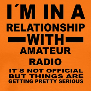 relationship with AMATEUR RADIO - Männer Premium T-Shirt