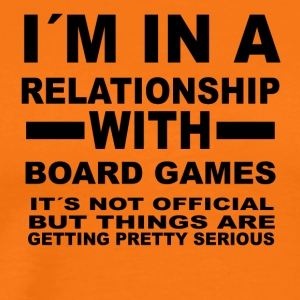 Relationship with BOARD GAMES - Men's Premium T-Shirt