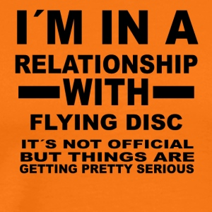 relationship with FLYING DISC - Männer Premium T-Shirt
