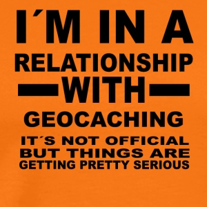 Relationship with GEOCACHING - Men's Premium T-Shirt