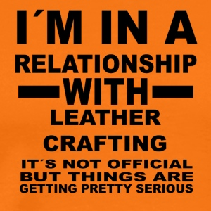 Relationship with LEATHER CRAFTING - Men's Premium T-Shirt