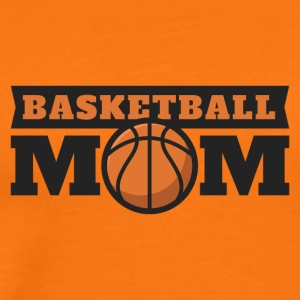 Basketball Mom. Mama. Mutti B-Ball. Heimspiel. Fan - Männer Premium T-Shirt