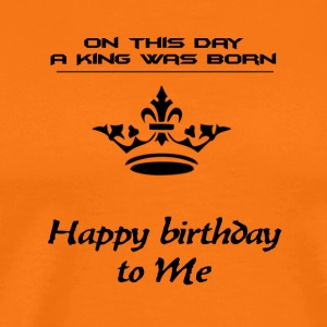 hapy birthday - Men's Premium T-Shirt