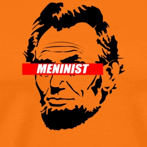 Abraham Lincoln Meninist Design - Men's Premium T-Shirt