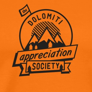 Dolomitt Appreciation Society - Premium T-skjorte for menn