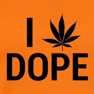 I love Dope - Men's Premium T-Shirt