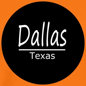 Dallas - T-shirt Premium Homme