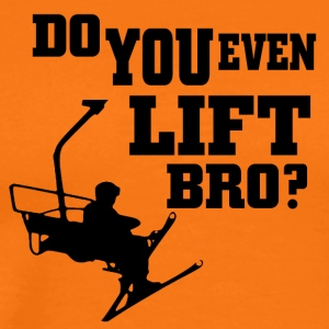 Ski - do you even lift bro