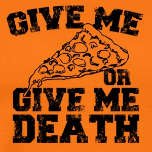 Give me pizza - Men's Premium T-Shirt
