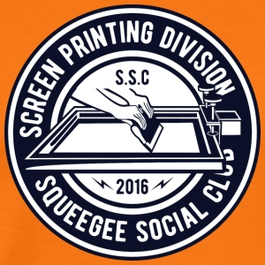 Squeegee Social Club Painter Artist Christmas - Men's Premium T-Shirt