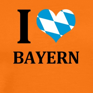 I love Bavaria - Men's Premium T-Shirt