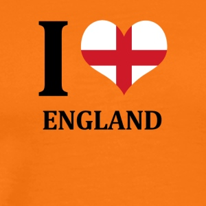 I love England - Men's Premium T-Shirt
