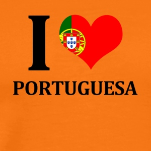 I love Portuguesa - Men's Premium T-Shirt