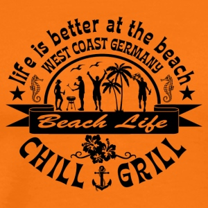 Chill Grill West Coast - Premium-T-shirt herr
