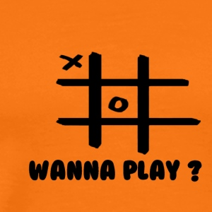 Wanna play - Herre premium T-shirt