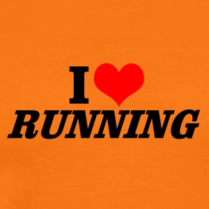 I love Running - Men's Premium T-Shirt