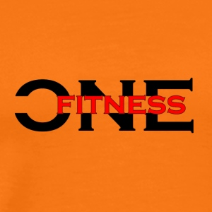 ONE FITNESS Logo (Without Globe) - Premium-T-shirt herr