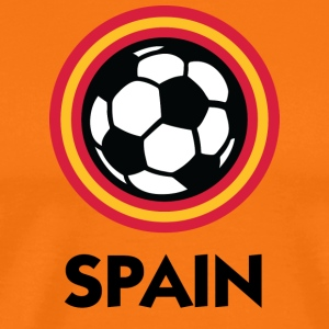 Spain Football Emblem - Men's Premium T-Shirt