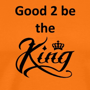 good2beking Blak - Premium T-skjorte for menn