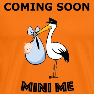 Coming Soon -  Me - New Baby Announcement - Men's Premium T-Shirt