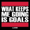 What keeps me going is goals - Men's Premium T-Shirt